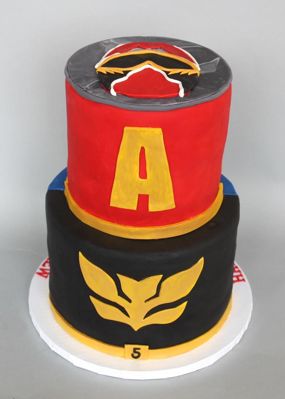 Power Rangers Megaforce Village Cakecraft
