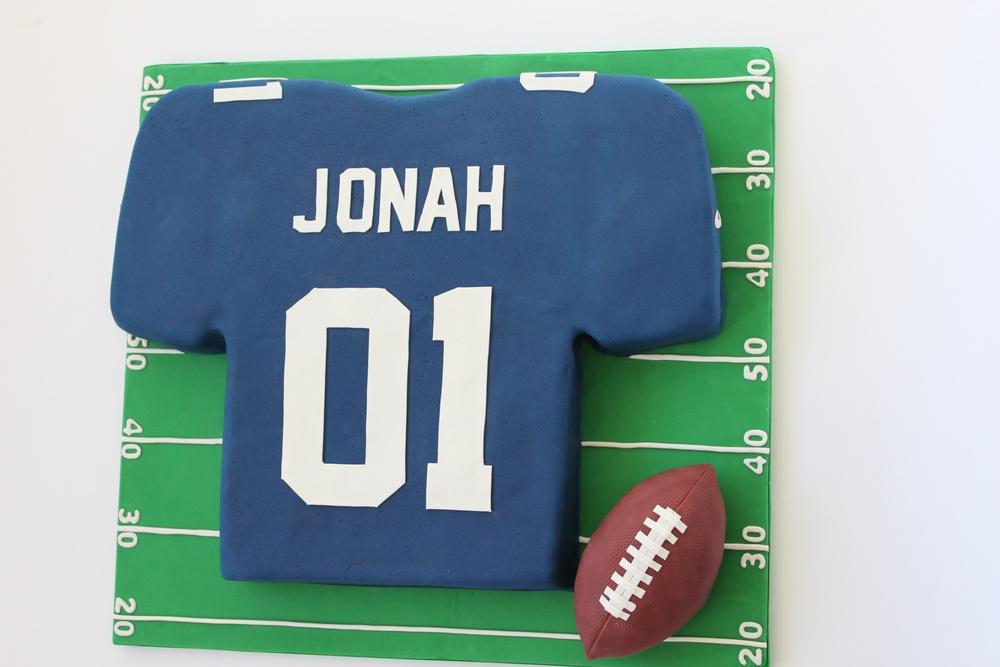Football Jersey birthday cake 7494.jpg