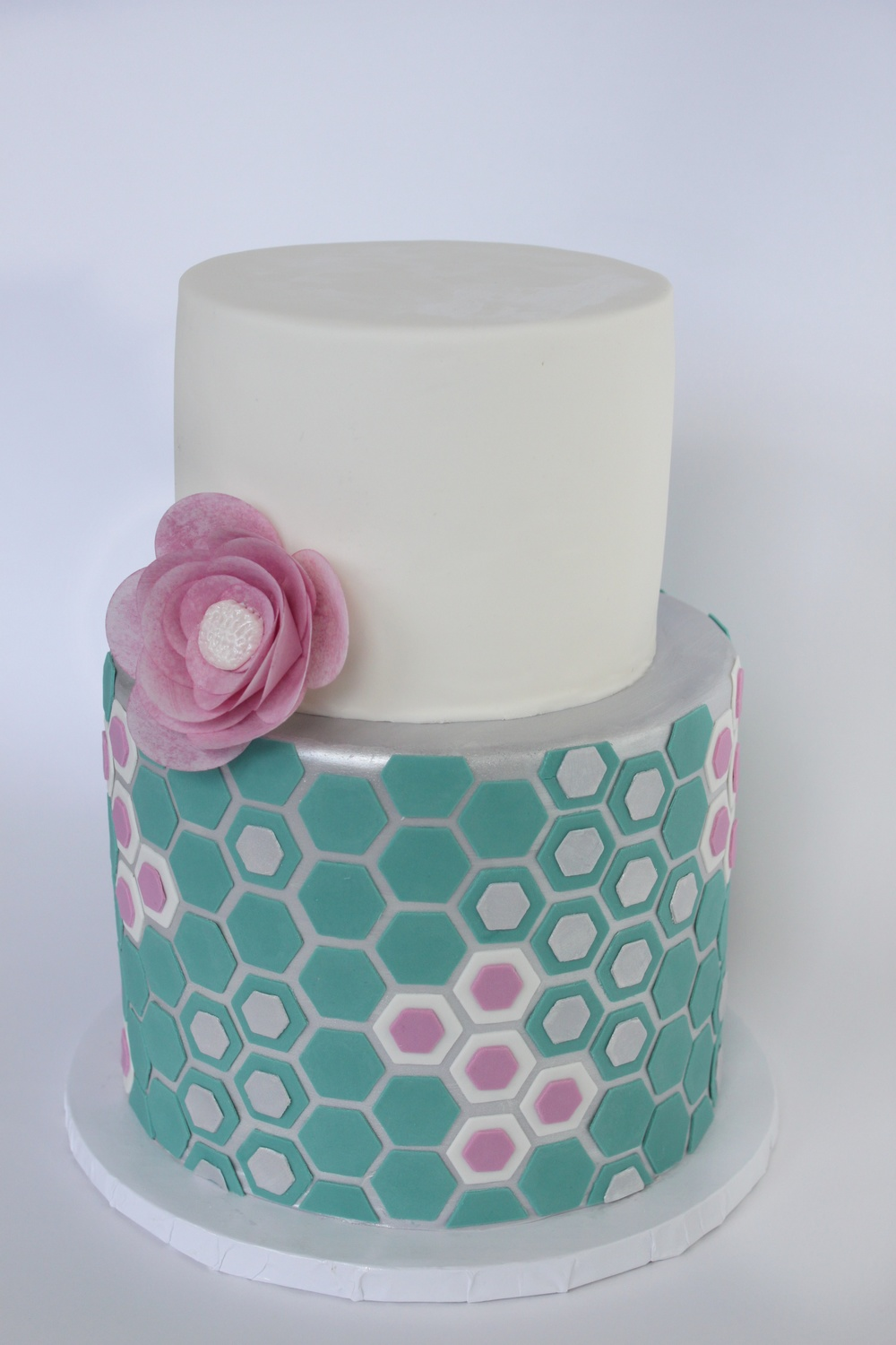 Honeycomb Hexagon cake 9198.jpg