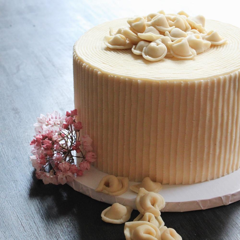 PASTA IN CAKE
