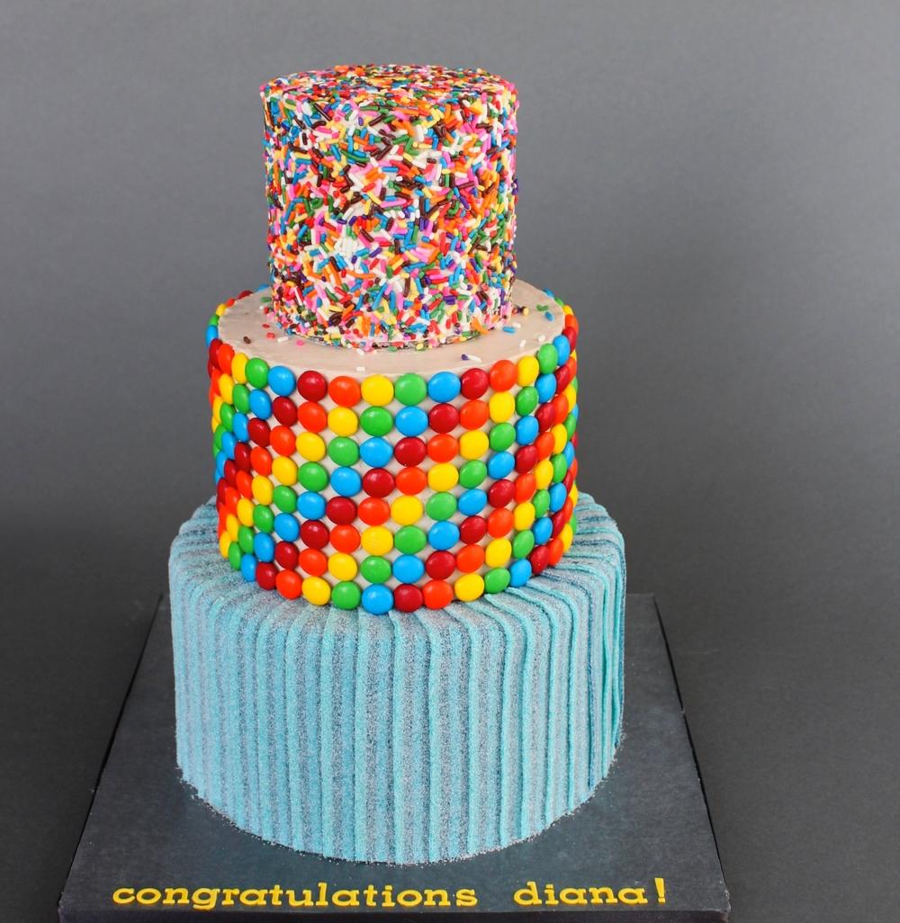Candy Cake Village Cakecraft