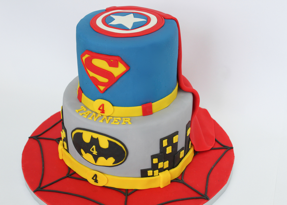 Village CakeCraft Superhero Cake.jpg