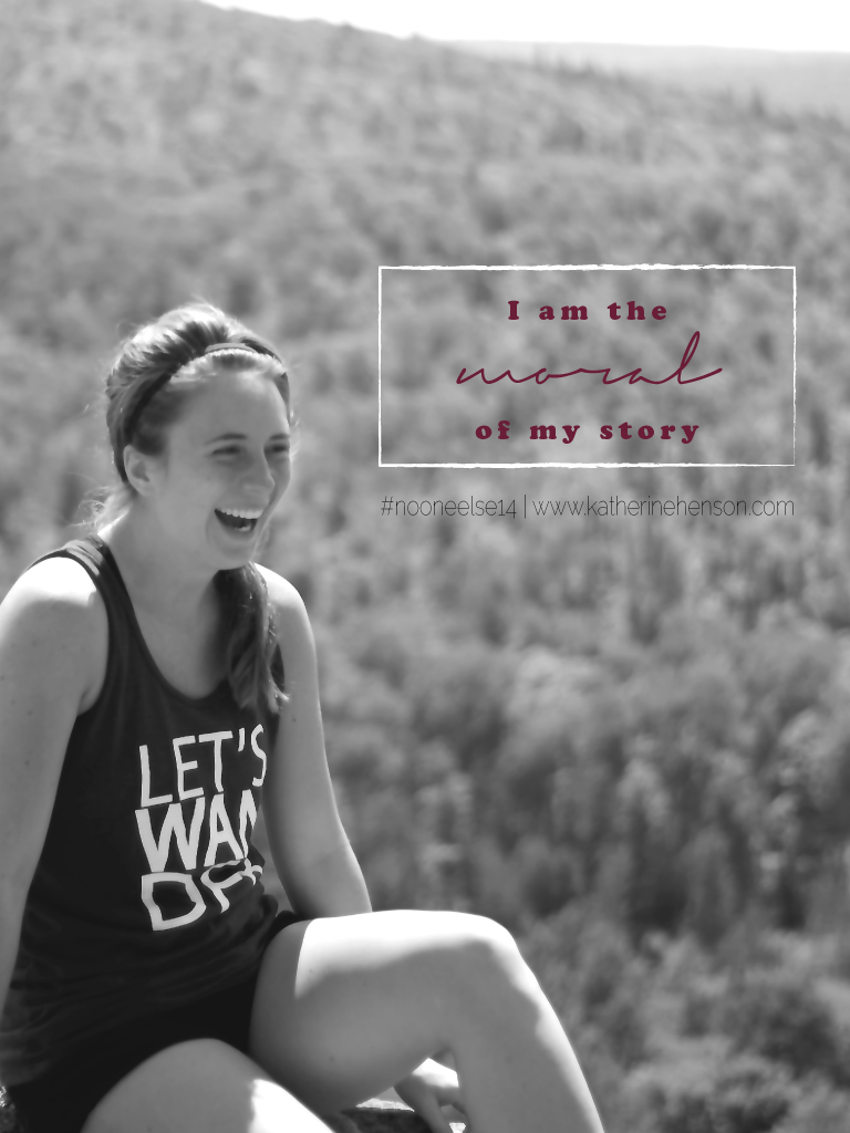 No One Else Can Play My Part // KatherineHenson.com