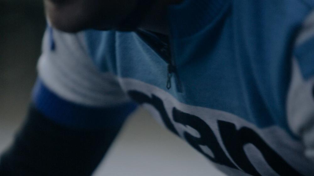 Brand close-up.