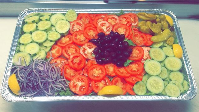 Healthy eats at #ParsPersianCuisine #Catering #Vegan #Vegetarian #GardenSalad #NorthScottsdale #azrestaurants #PersianFood