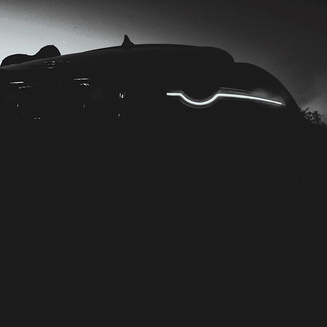 """Stevie"" & I #jaguarftypeS  #ftypeS #noir #bnw #nightfeels @jaguarusa #jaguar @bnw_rose"
