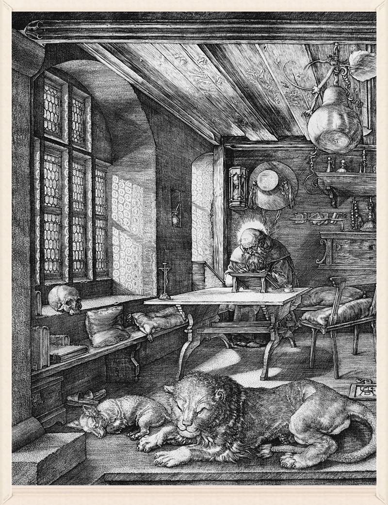 Dürer-Hieronymus-im-Gehäus