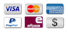 All common payment methods accepted