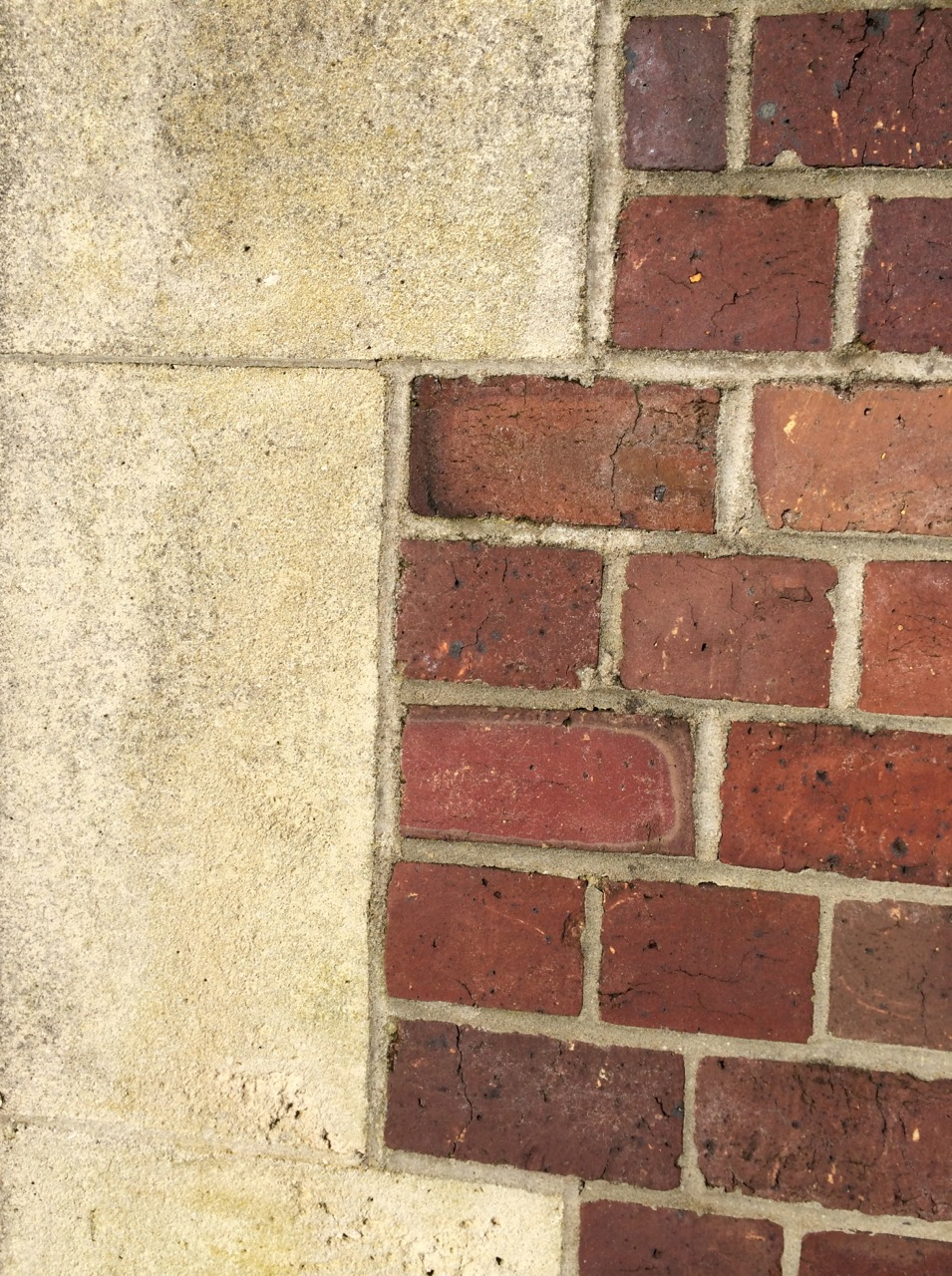 Oamaru stone and heritage brick construction