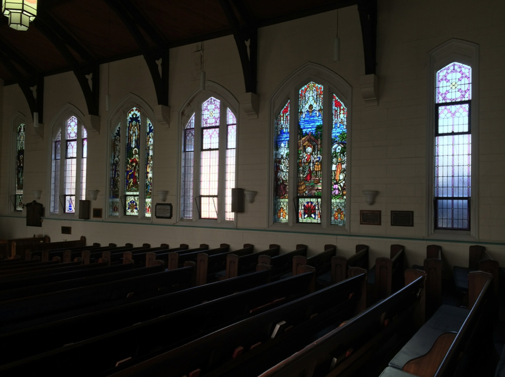 Memorial Windows, Eastern Wall