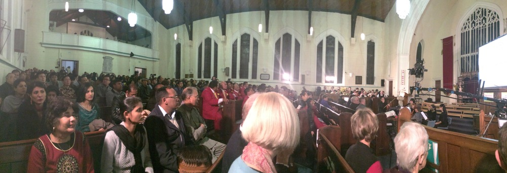 Heart of Auckland: Bicentenary Celebration of Christianity in New Zealand held at St David's, 30 August 2014