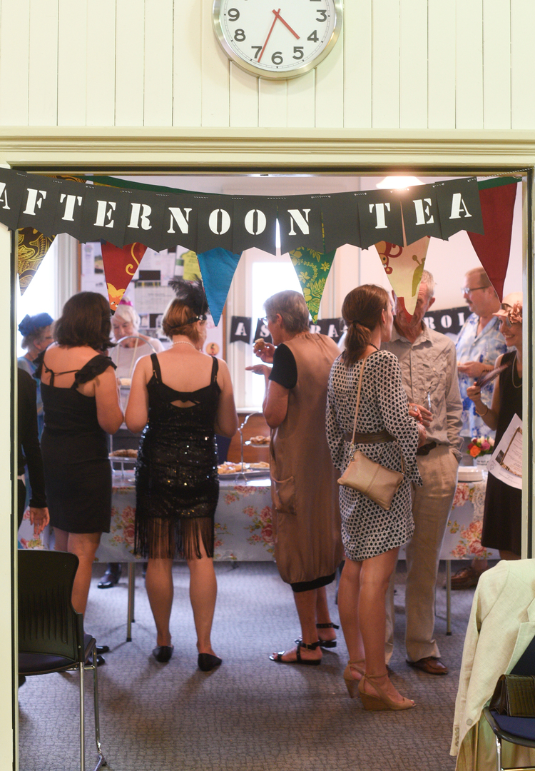 """Afternoon Tea - '20's style.   Image courtesy Maria Lazurenko"
