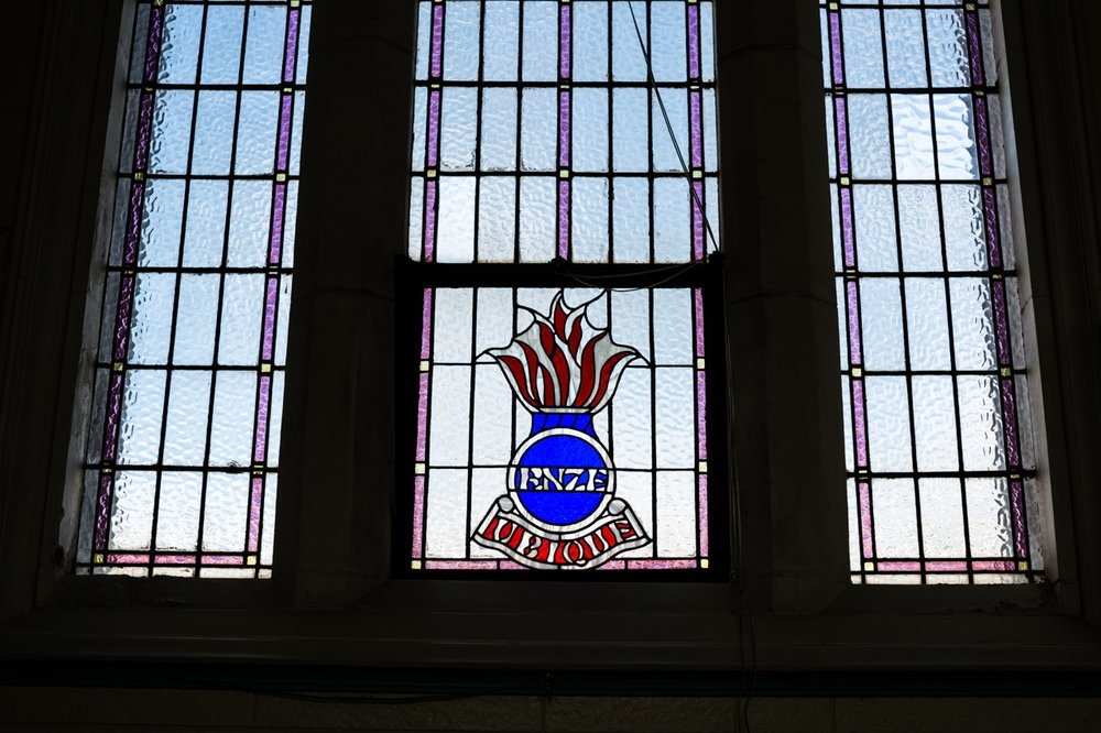 A place of Remembrance…  the Royal New Zealand Engineers' Window