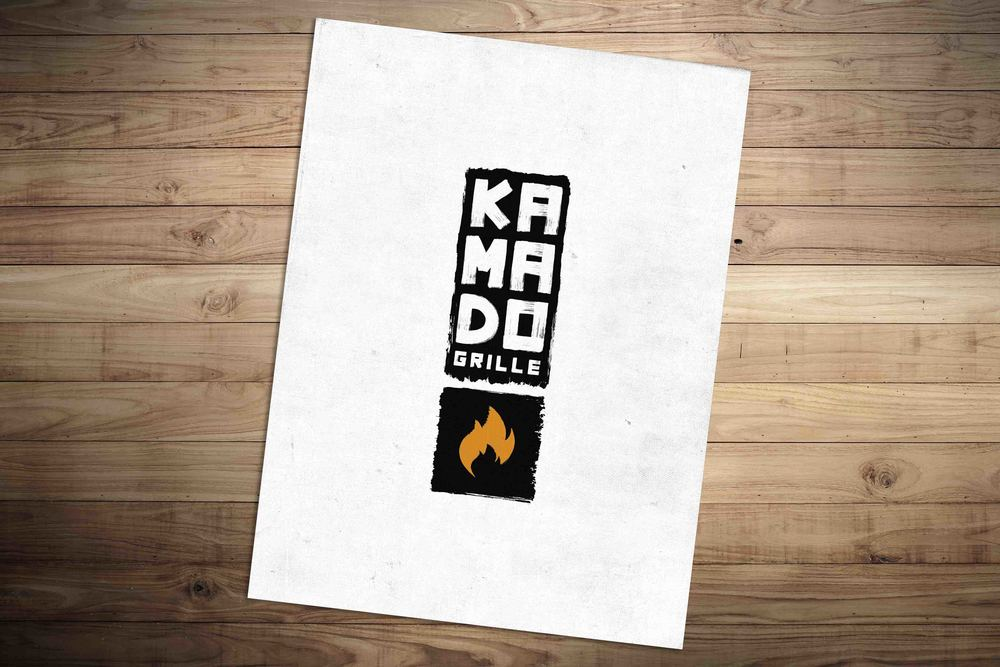 Logo for Kamado Grille