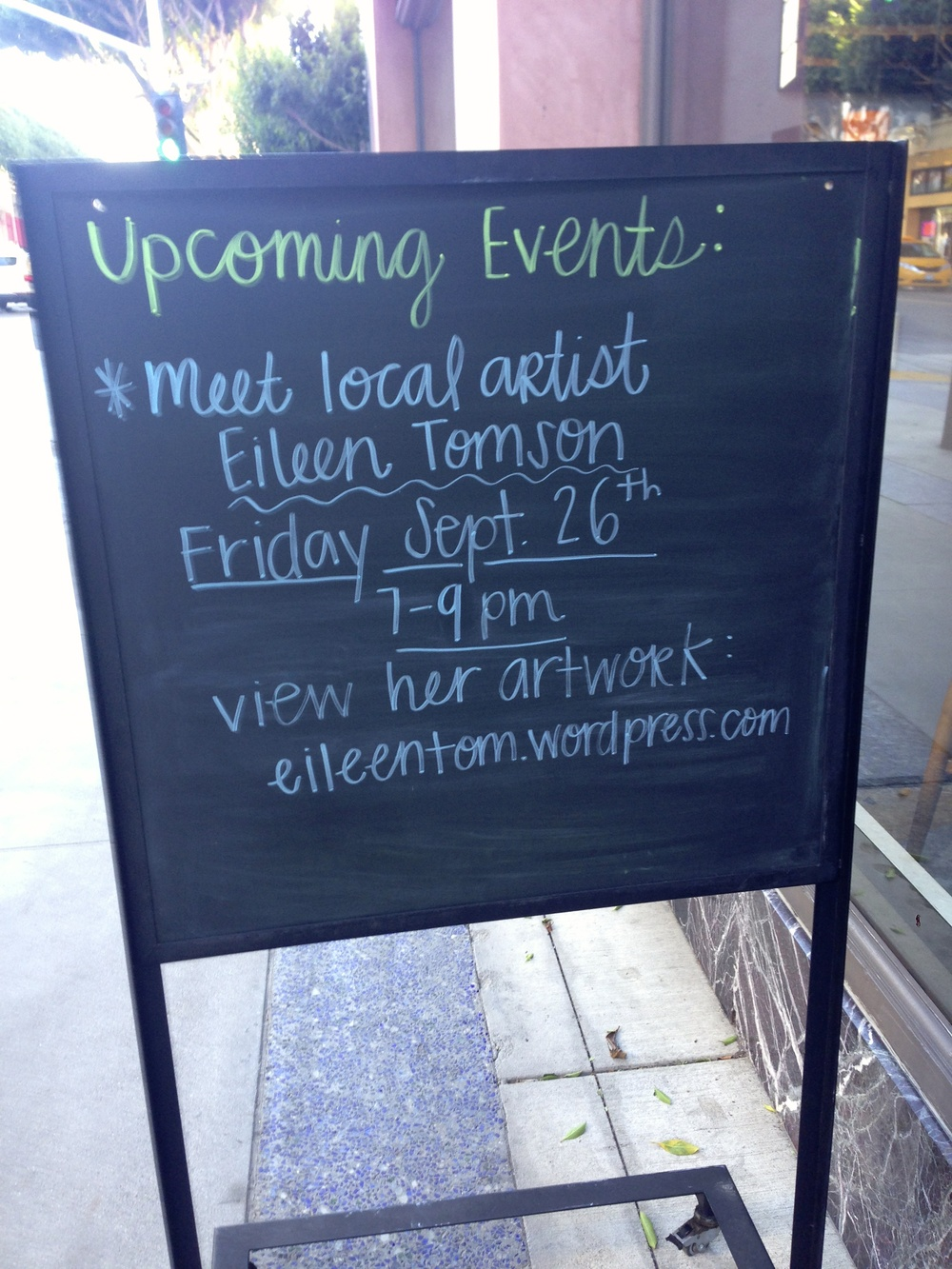 west elm art reception, santa  monica, california-