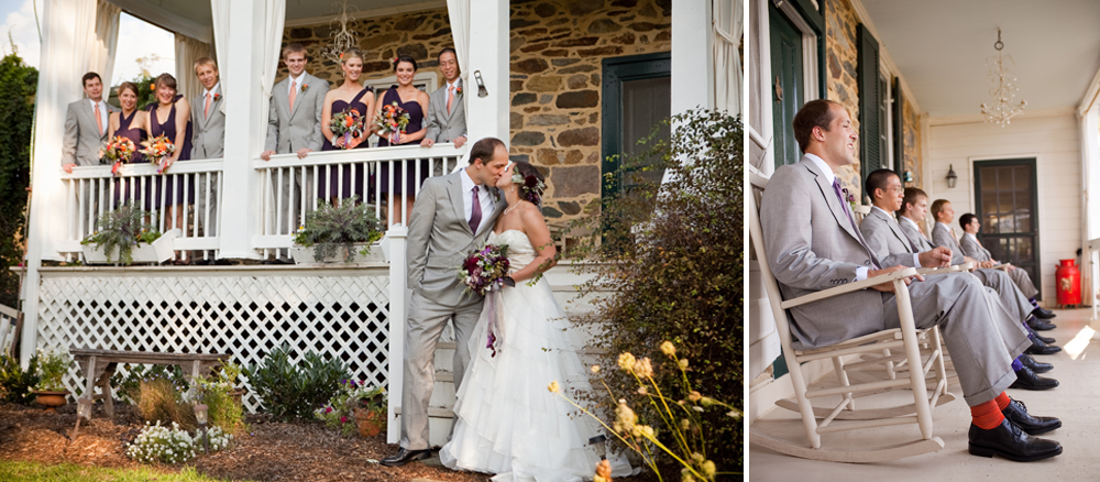A beautiful old stone fa ç ade graces the main house. Photos courtesy of  Genevieve Leiper Photography .