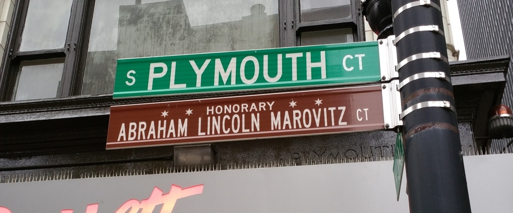 Abraham Lincoln Marovitz CT - Honorary Chicago. Federal Judge who never attended college.