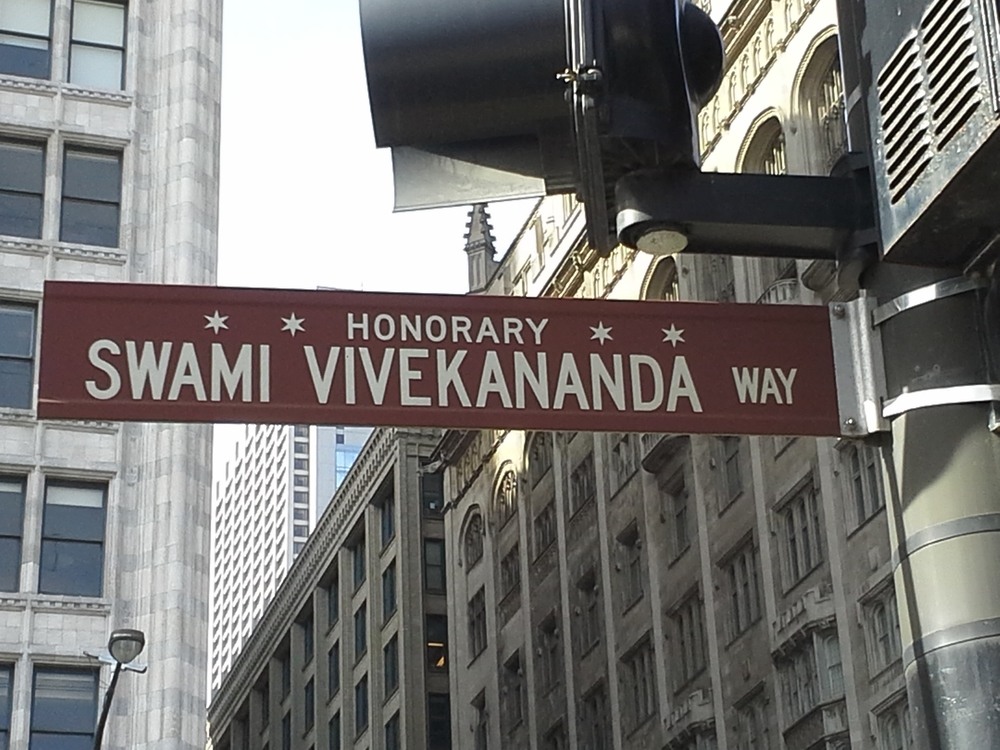 Swami Vivekananda Way - HonoraryChicago.  India Delegate to Parliment of World Religions 1893