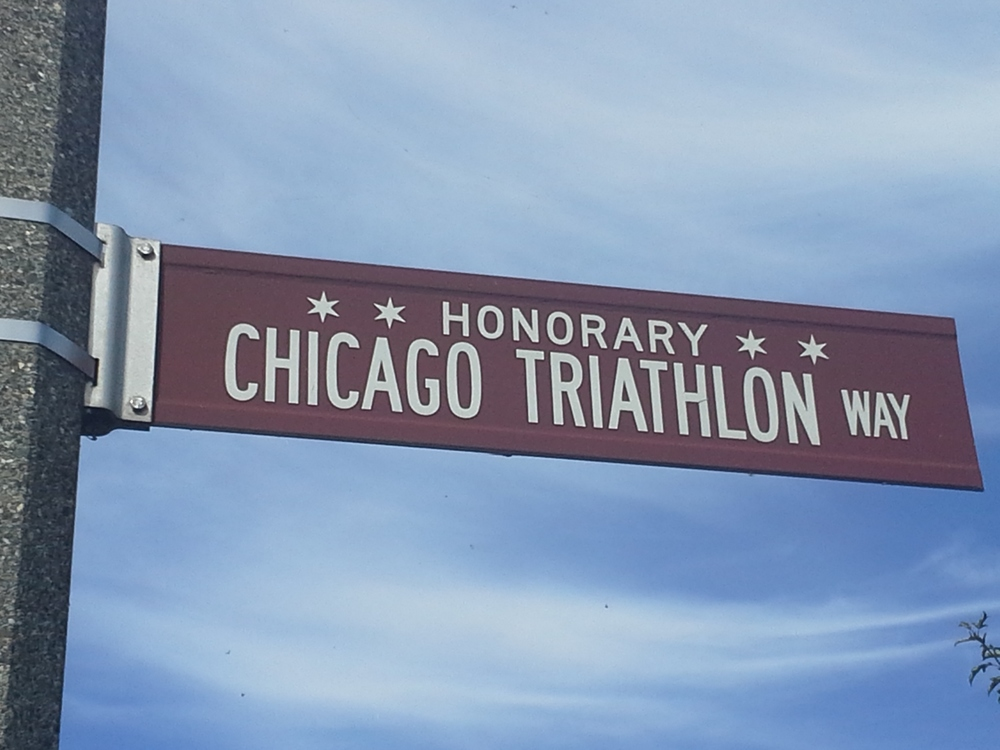 Chicago Triathlon Way - HonoraryChicago.com - Chicago Triathlon Course