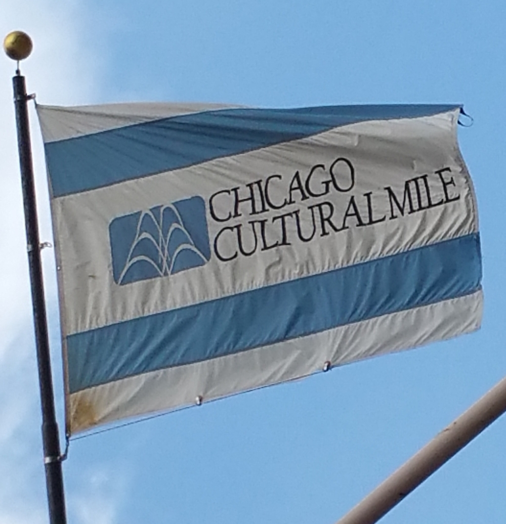 Trademark of the Chicago Cultural Mile Association