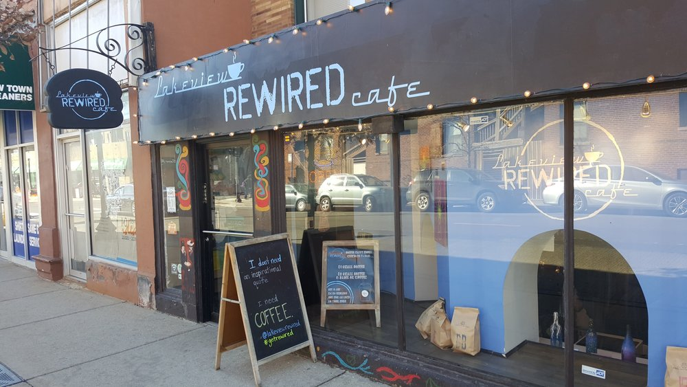 Lakeview Rewired Cafe - North Broadway Street and Cornelia