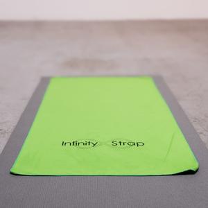 infinity yoga mat. infinity strap yoga mat towel