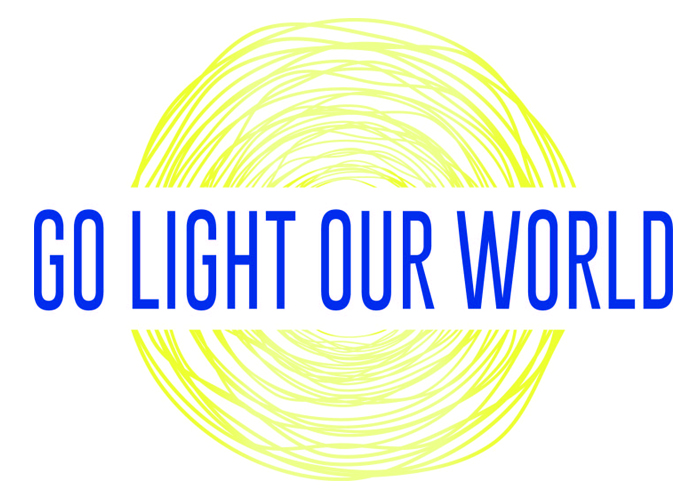 Image result for go light our world logo