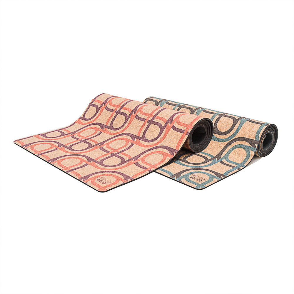 Limited Edition Cork Yoga Mat by Artist Jim Isermann