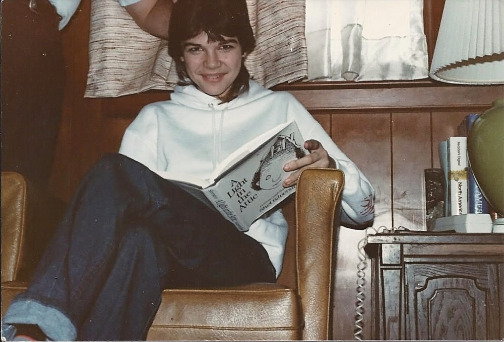 "Obviously, I was one of the ""cool"" kids, right?    Btw, that was my autographed Shel Silverstein...I'd kill to have it back"
