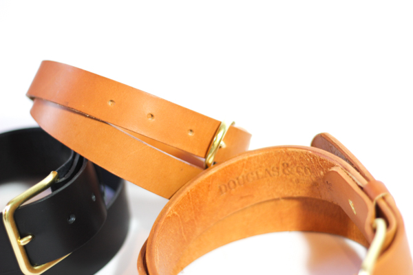 Belts with removable buckle: $110