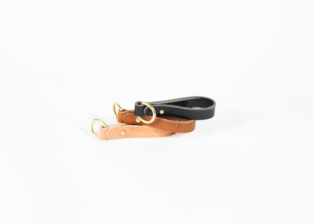 Leather Key Chain : $28