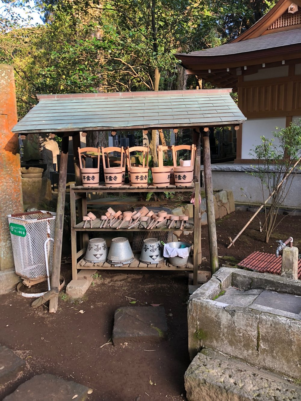 We stumbled upon this small shrine near our ryokan during an early morning stroll.