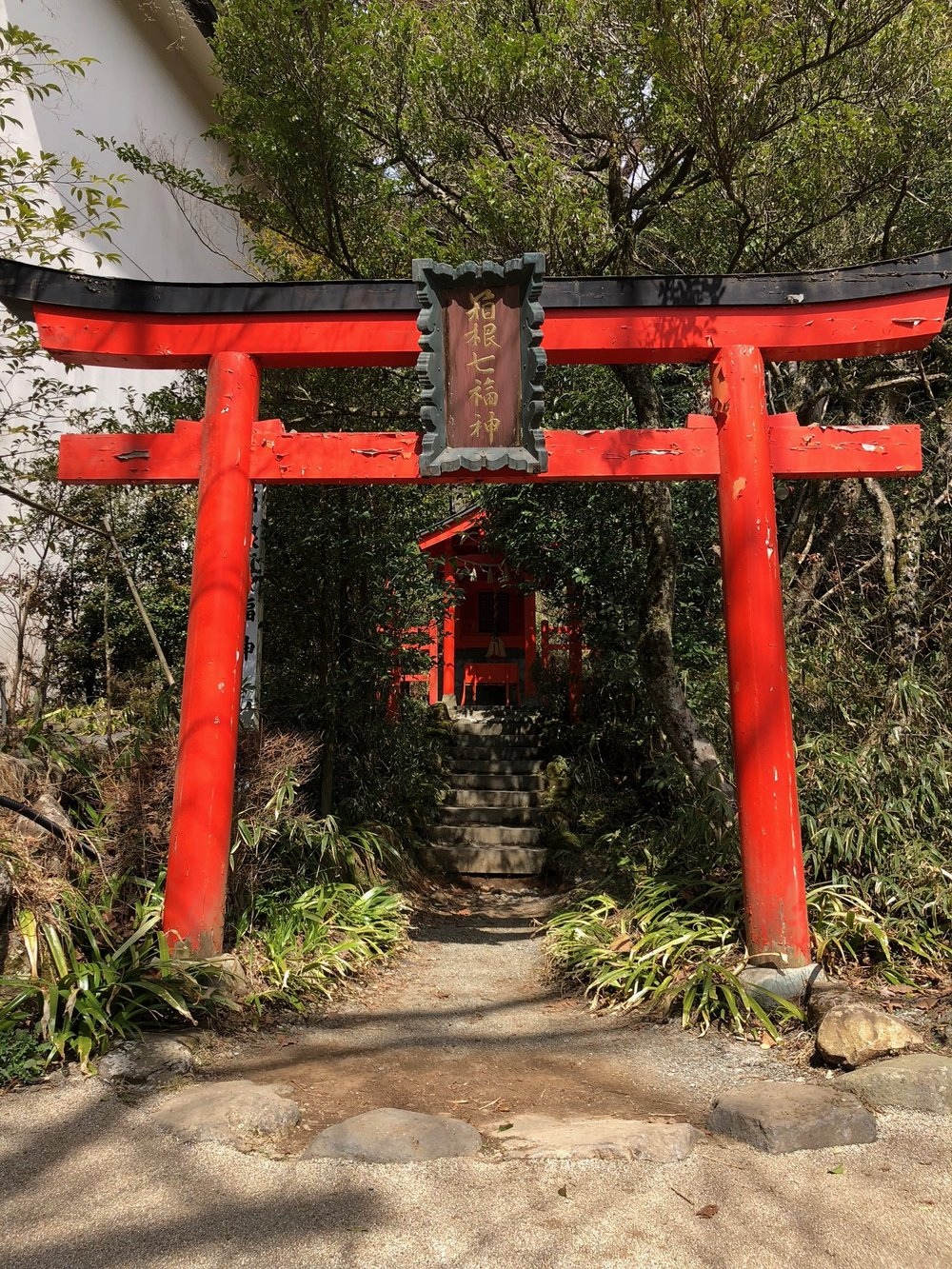 Most shrines have partially-hidden mini shrines sprinkled across their grounds.