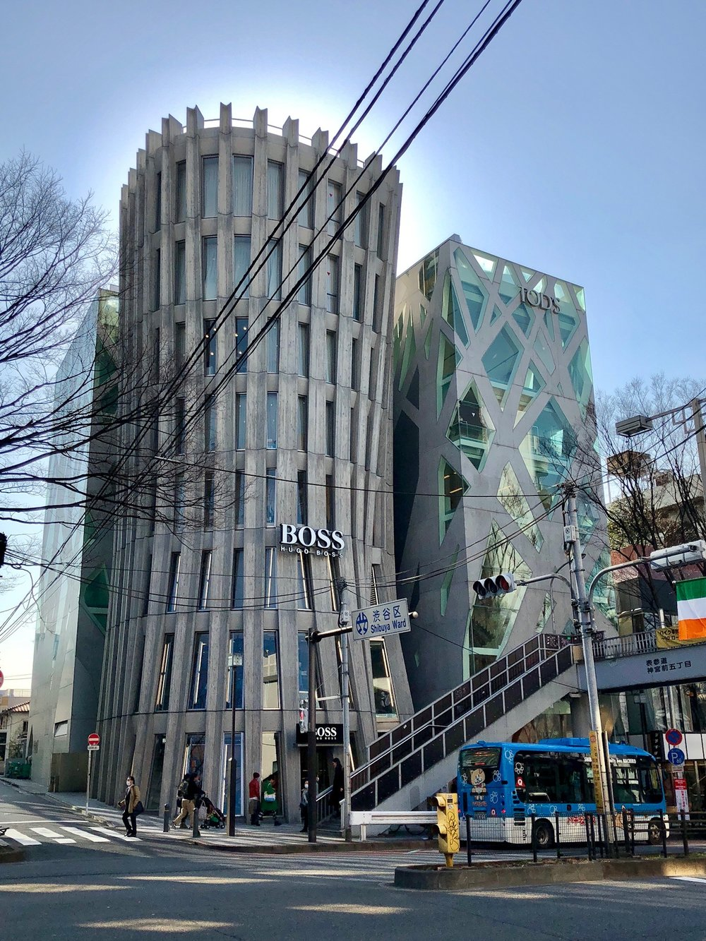 Al took this great photo wandering around in a high end shopping area between Harajuku and Shibuya called Omotesandō Hills