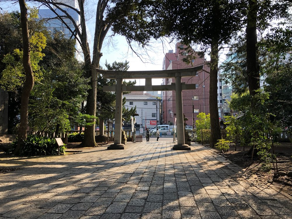 This was the first stop on our Sake Experience with our guide Noriko. The large red gate is called a Tori Gate, its color is often red or orange to signify the importance of the sun in Japanese culture. They are often very large so that the Shinto Gods may find their way through the gate so that guests can pray to them further inside the shrine building