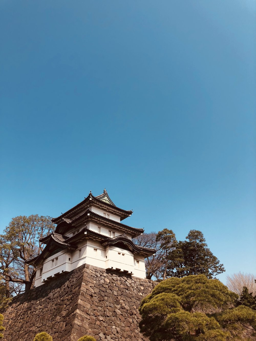 One of the oldest interior buildings on the grounds of the Imperial Palace