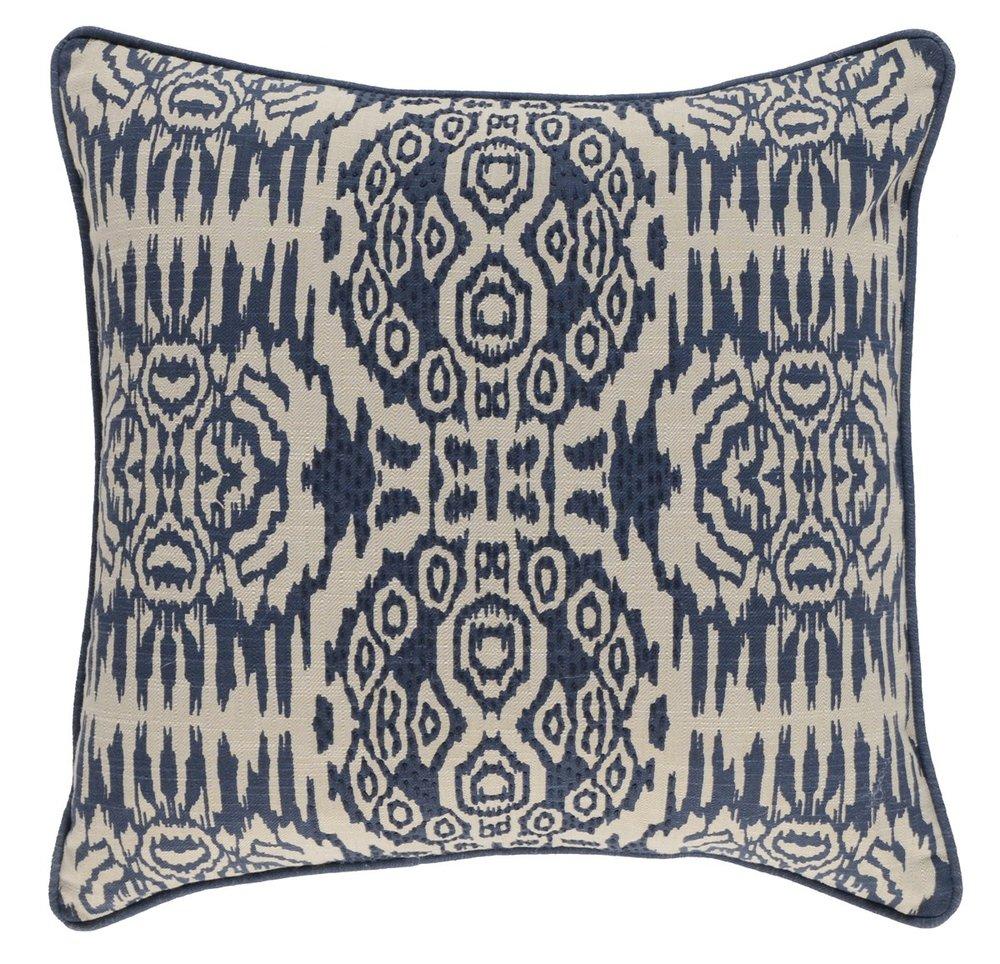 NF Kiaan Indigo 22x22 pillow