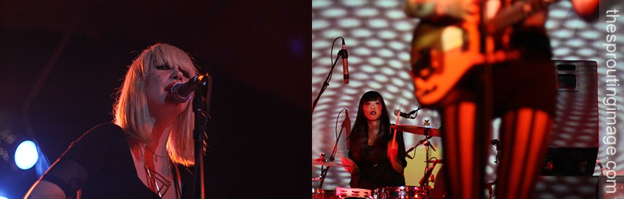 The band began as just a side project for Kristin Gundred.  Source: Dum Dum Girls @ Belly Up | NBC San Diego