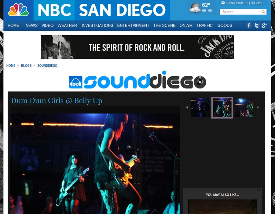 dum dum girls photos by samaria daniel for nbc music blog soundiego