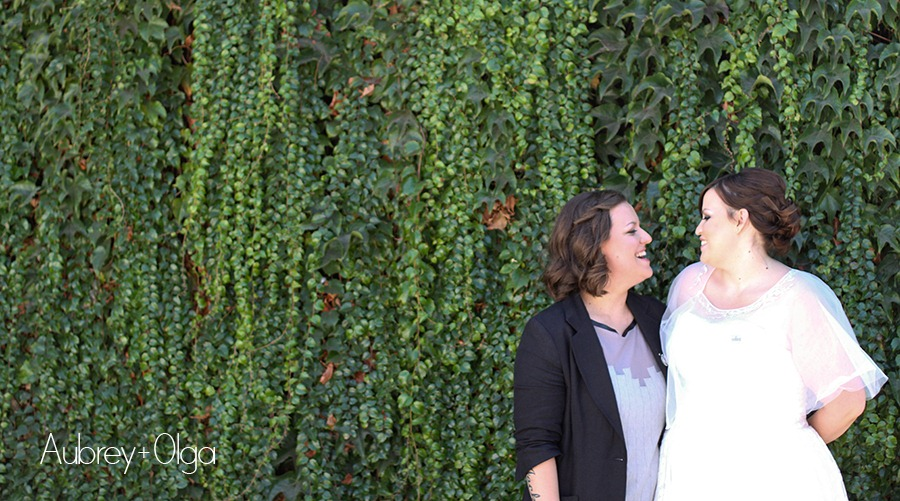 Gay and lesbian wedding photography, in Southern California