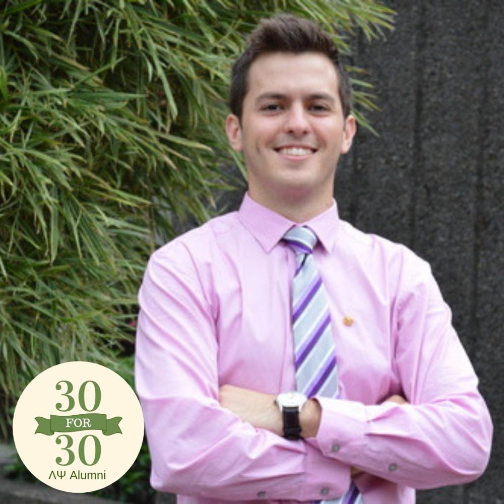 Michael Severino   Pledged in 2013   Graduated 2015