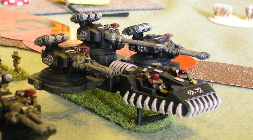 Khurasan's wonderful, if slightly ridiculous, Garn superheavy tanks