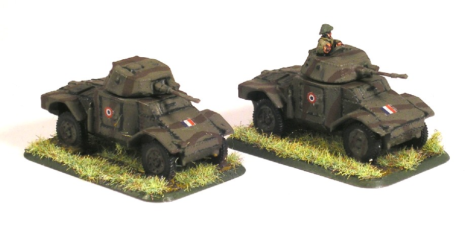 Panhard armoured cars