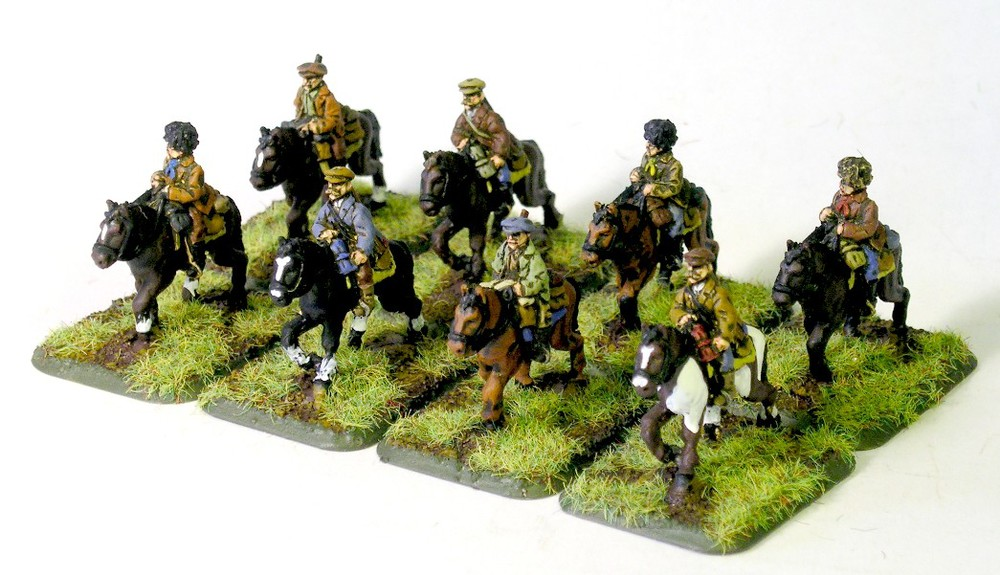 15mm Soviet mounted partisans from Eureka