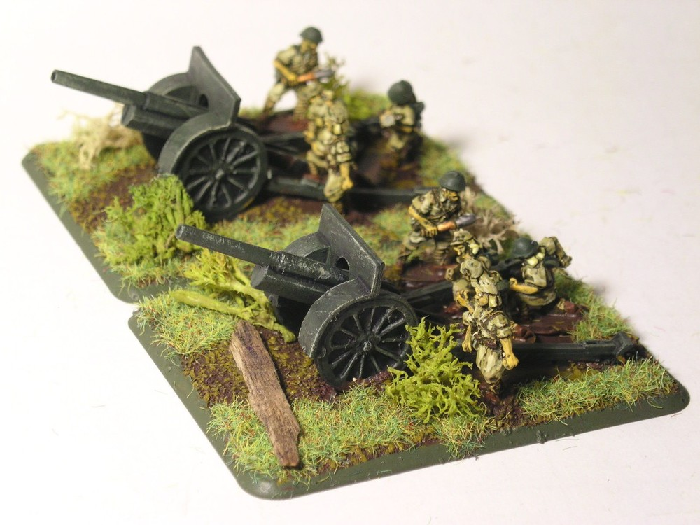 Japanese 105mm artillery
