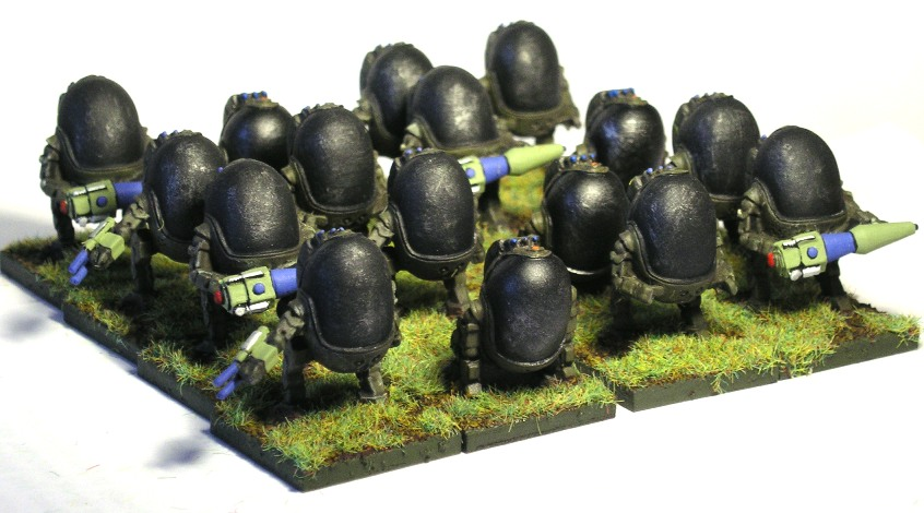Aphid Heavy Infantry (figures from Battlestations)