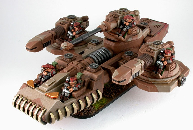 Garn Crocodile class SuperHeavy tanks from Khurasan