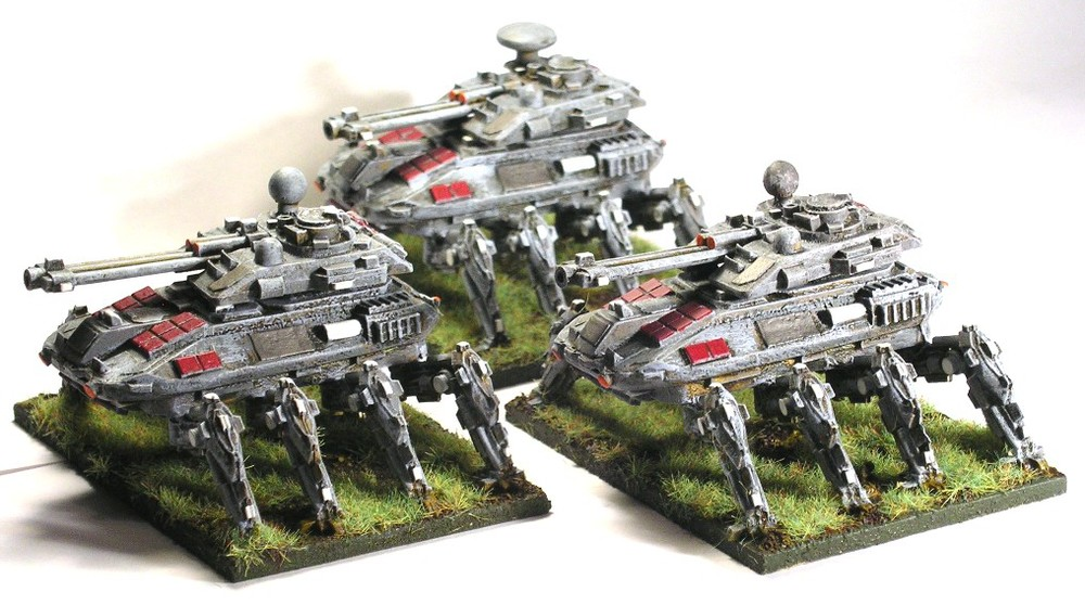 8-legged tanks from GZG