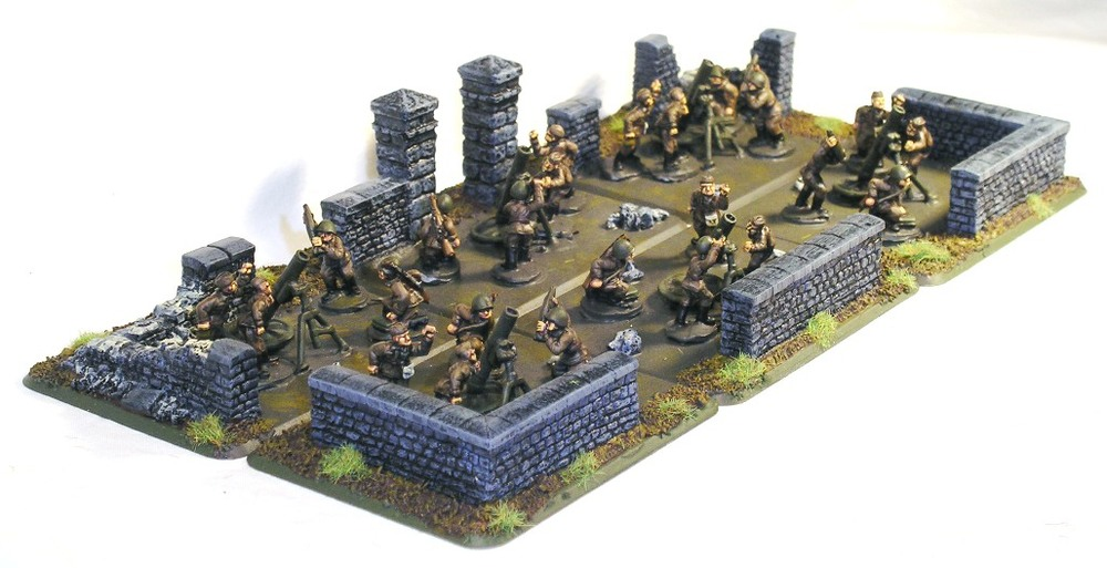 Soviet 120mm mortars from Battlefront
