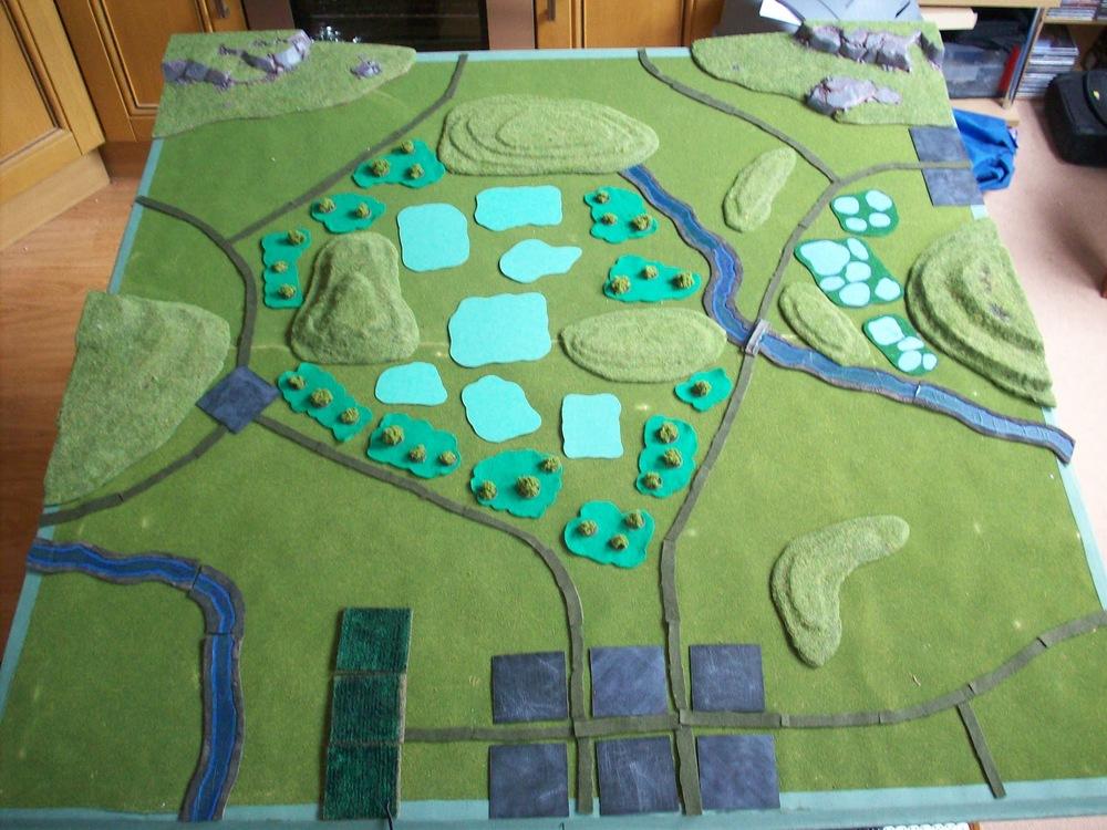 Bad Phuc: Villages, Hills, Roads, Jungle and Swamp.